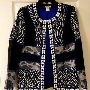 Mirror Image Jackets & Coats - MIRROR IMAGE Womens Jacket Animal Print Sz Medium